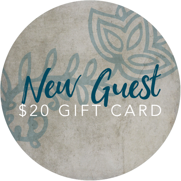 New Guest Gift Card | Lemongrass Center