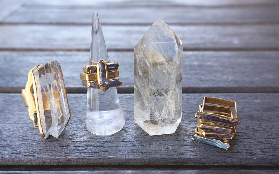 Wearing Crystal Jewelry