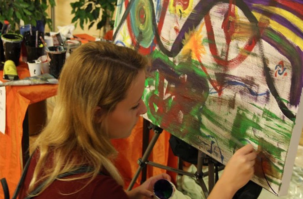 Develop Your Intuition Through Soul Painting Workshop with David Lesinski