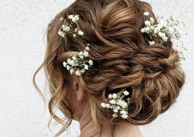 Romantic Natural Bridal Style