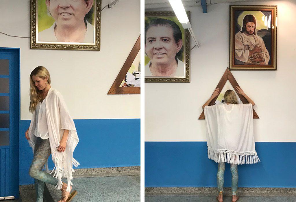 john of god prayer triangle with tara from lemongrass salon and spa encinitas ca