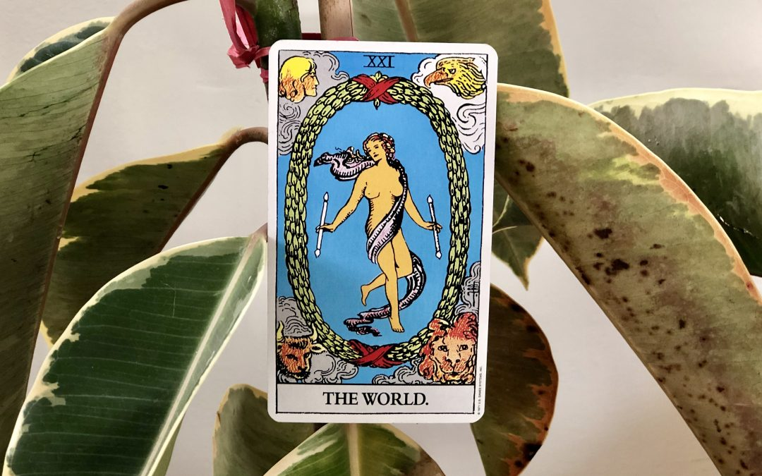 Renew And Refocus. Decembers Tarot Reminds You The World Is Yours.