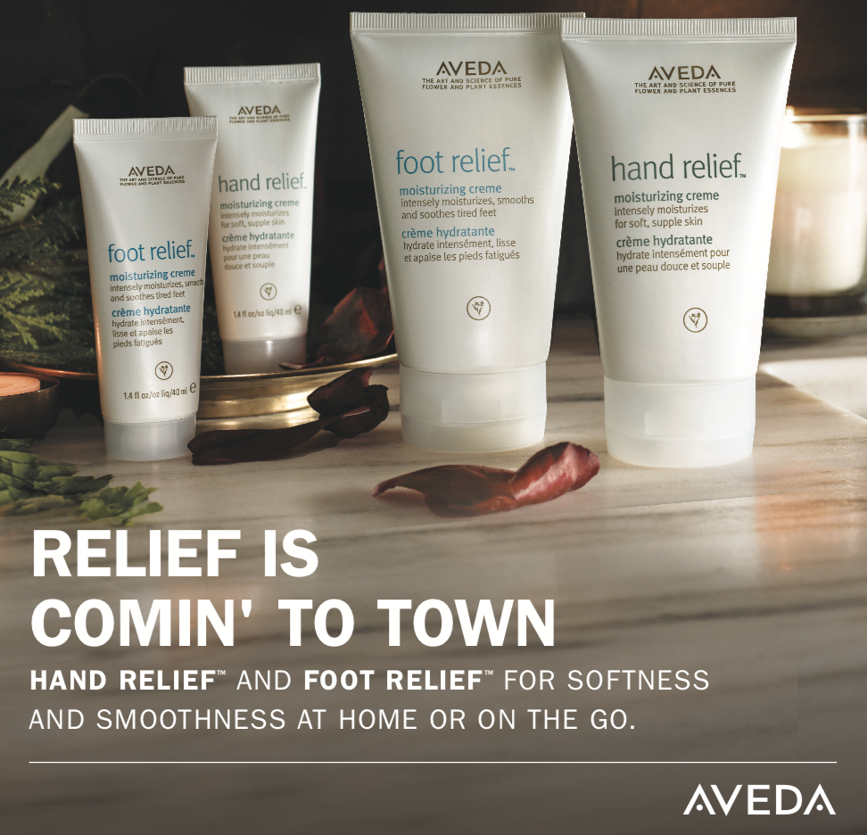 Aveda Gift Package Hand and Foot Relief