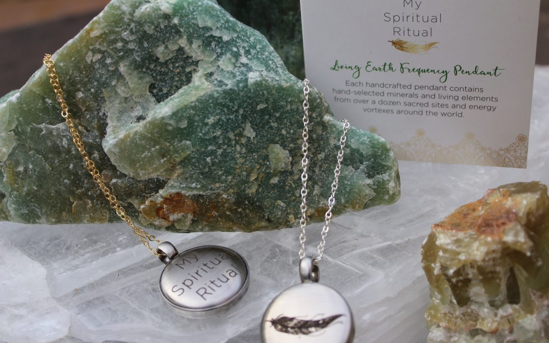 New! My Spiritual Ritual Living Earth Pendants