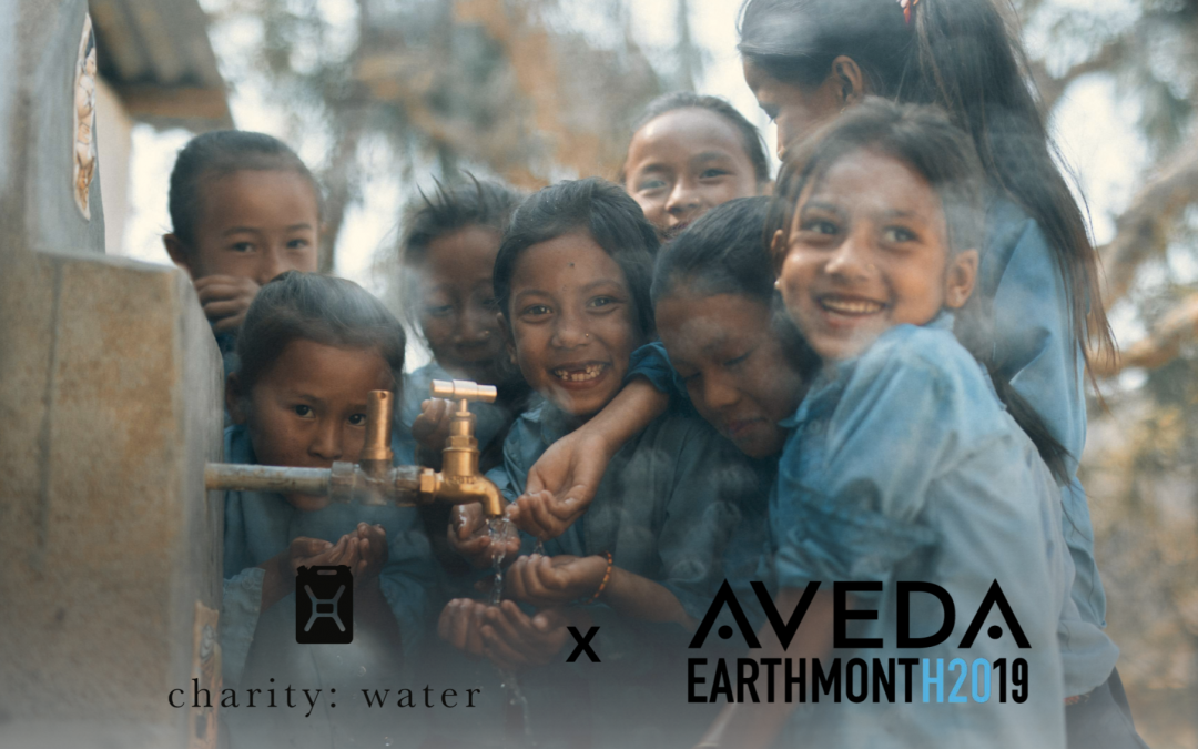 Aveda Earth Month 2019 X charity:water