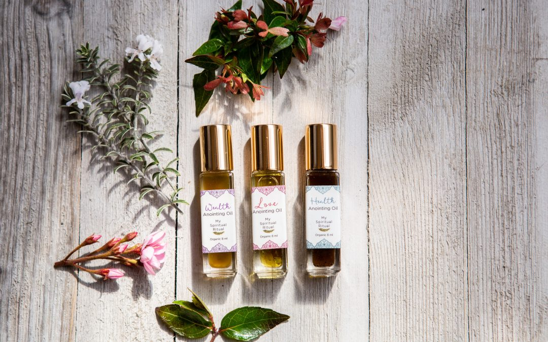 My Spiritual Ritual: Health, Wealth and Love Roller-ball Oils